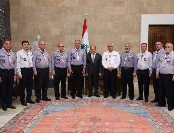 رئيس الجمهورية اللبنانية يستقبل اتحاد كشاف لبنان