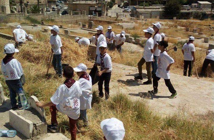 كشافة طارق بن زياد تشارك في فعالية اكراما لموتانا