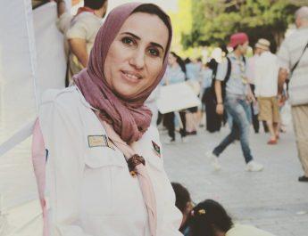 القائدة الليبية هدى أبوشاقور تشارك في ورشة العلاقات الخارجية في تونس