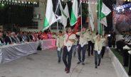 مجموعة خليل الرحمن الكشفية تشارك في افتتاح حفل الزواج الجماعي الثالث في تفوح