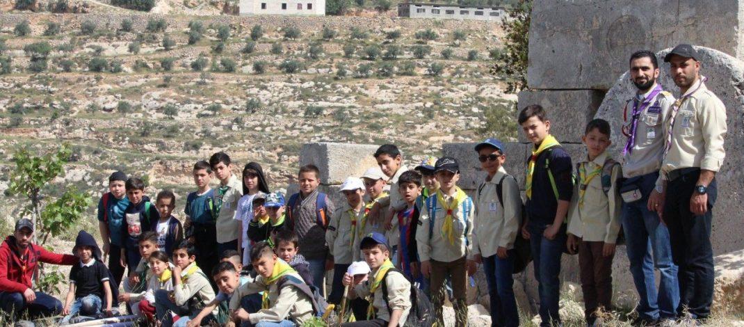 مجموعة خليل الرحمن الكشفية تنظم رحلة خلوية لأشبالها وتستكشف عيون تفوح