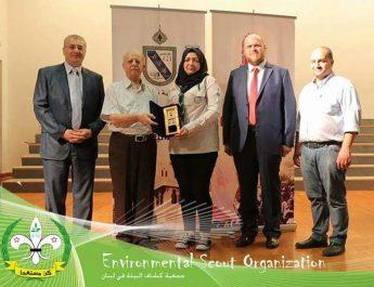 كشافة البيئة احتلت المركز الأول في المسابقة ضمن احتفالية يوم طرابلس