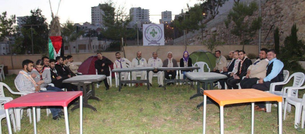 مجموعة خليل الرحمن الكشفية تكرم قادتها السابقين والحاليين