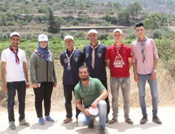 مفوضية كشافة محافظة الخليل تشارك في الدورة الوطنية البيئية الأولى للكشافة والمرشدات