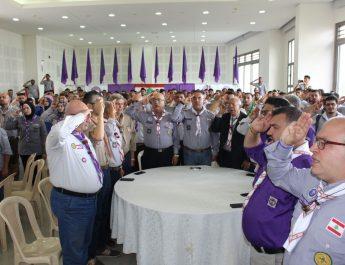 اتحاد كشاف لبنان يختتم الدراسات الخمس العملية الاولى للشارة الخشبية في شمال لبنان
