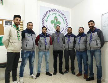 قادة خليل الرحمن الكشفية يجتمعون لتقييم الوضع خلال فترة الحجر الإلزامي